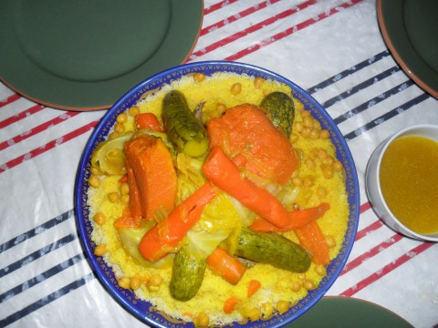 Authentic Moroccan Cous Cous
