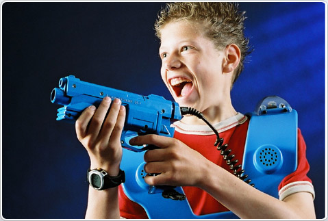 Tag You re It ~ Laser Tag