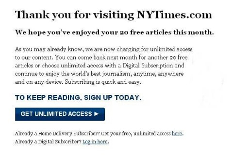 new york times newspaper articles. the New York Times began