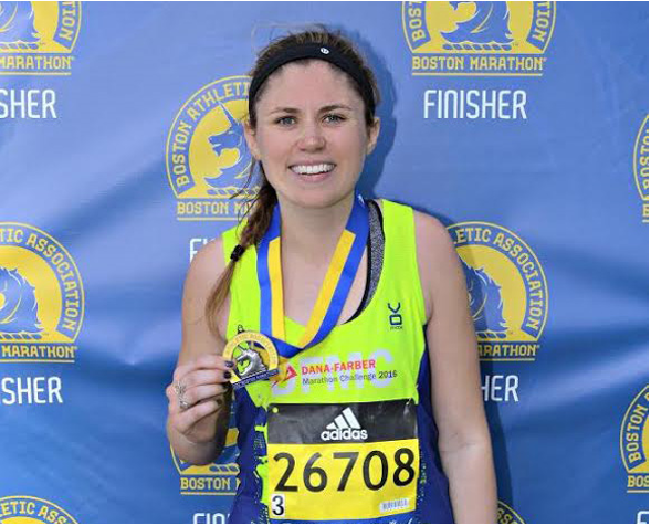 Senior Runs Boston Marathon, Raises $10,000 for Dana Farber